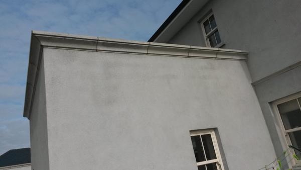 Parapet capping 2