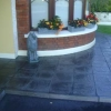 Slate slabs charcoal