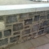 Granite flat wall cap