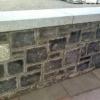 Granite flat wall cap