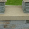 Yellow sandstone sill