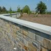 Flat wall capping